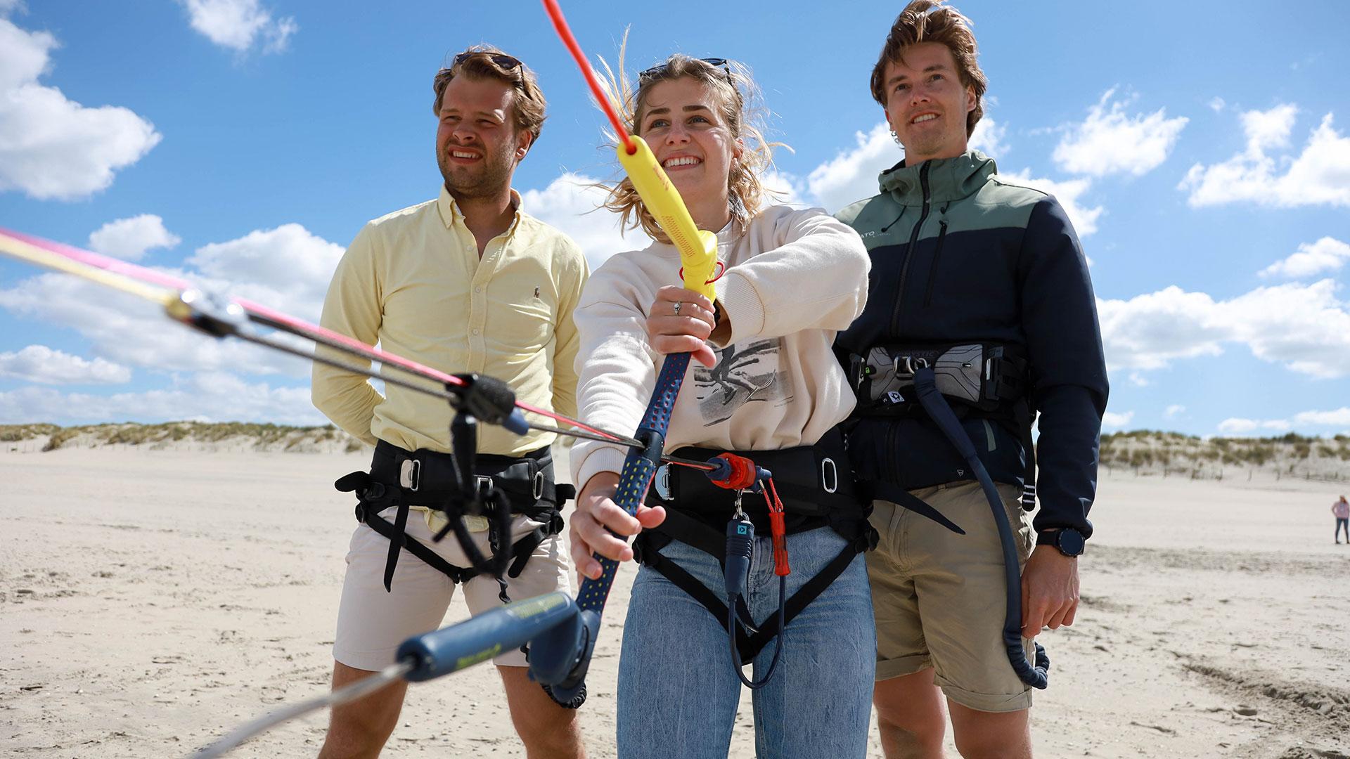 Klaar voor je eerste kitesurfles?